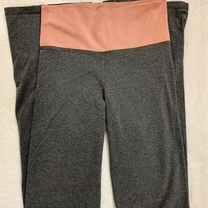 Victoria Secret Small Yoga Boot Gray Pants